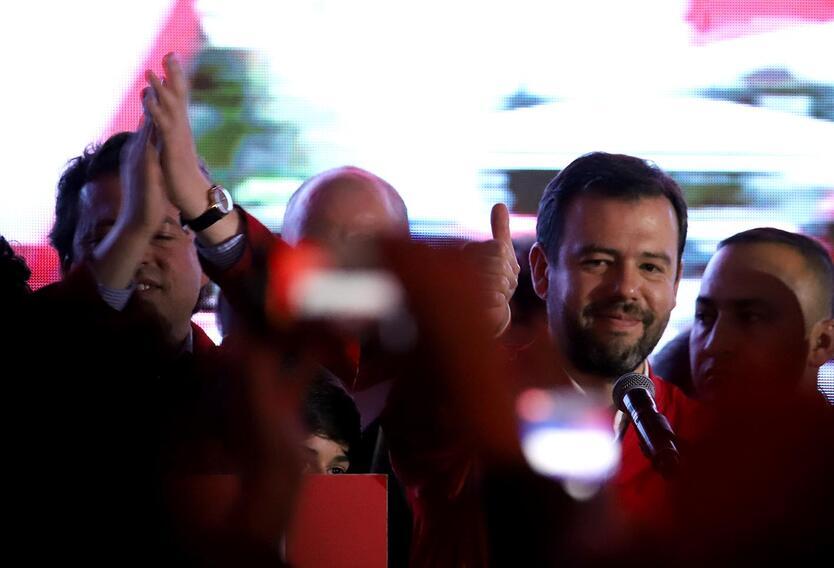 Carlos Fernando Galán, presidente del Concejo de Bogotá.