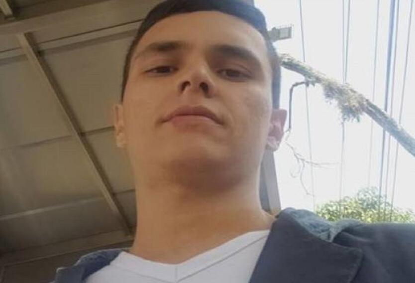Duvan Villegas, joven herido en Cali