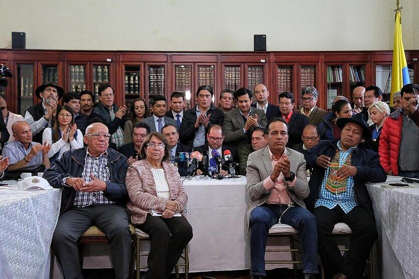Paro nacional: Comité de paro se reunió con el Congreso