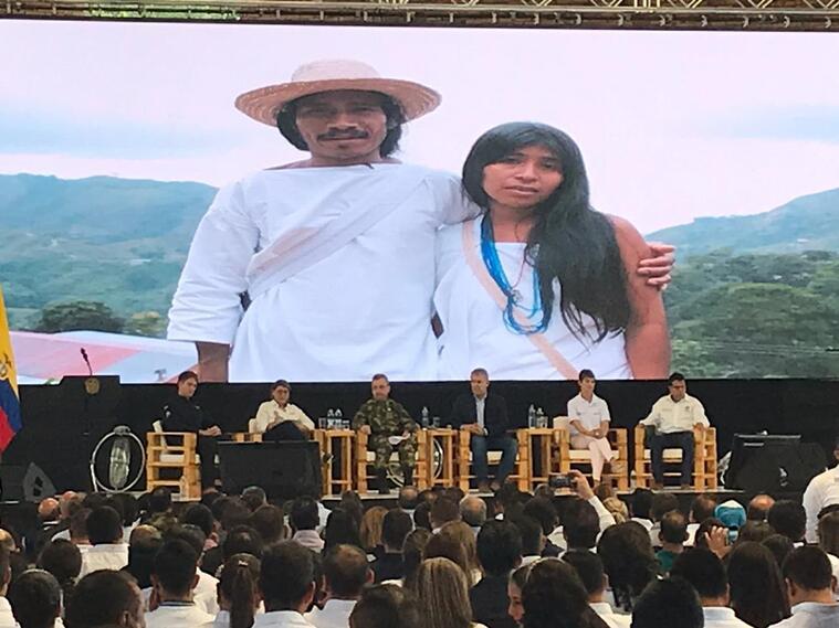 Presidente Iván Duque, presentó 38 nuevos municipios libres de minas antipersonal