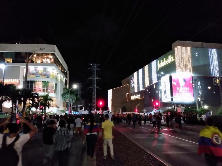 Movilizaciones en Barranquilla.