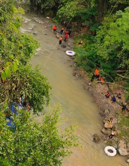 Accidente en Indonesia