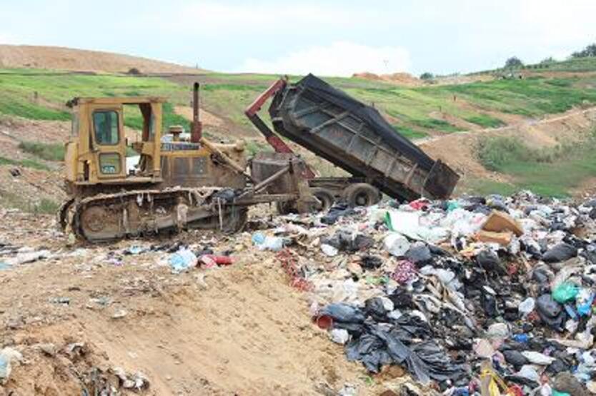 Al sitio de disposición llegan diariamente mil toneladas diarias de desechos.