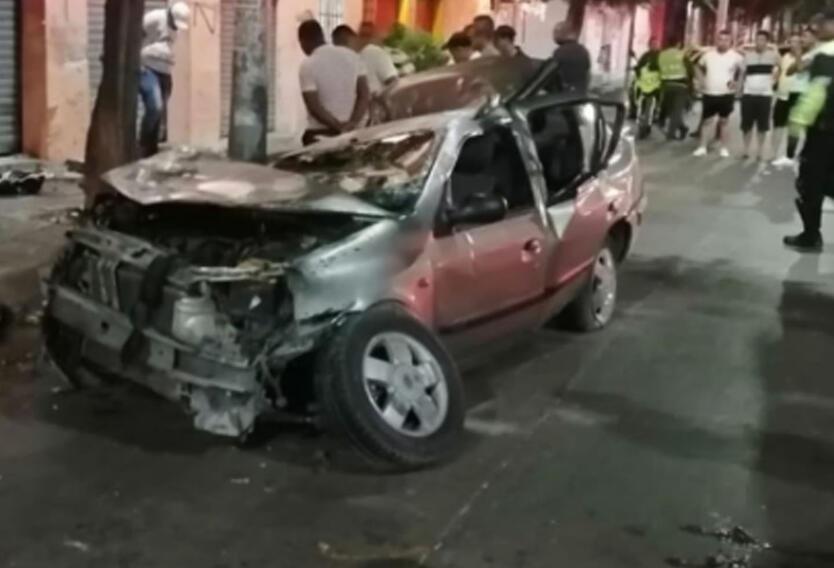 Grave accidente de transito en Barranquilla