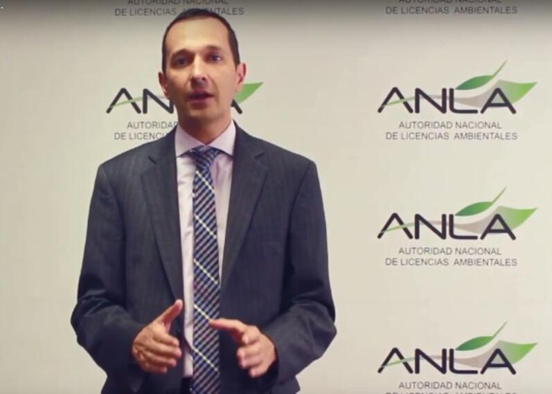Rodrigo Suárez, director de la Anla.