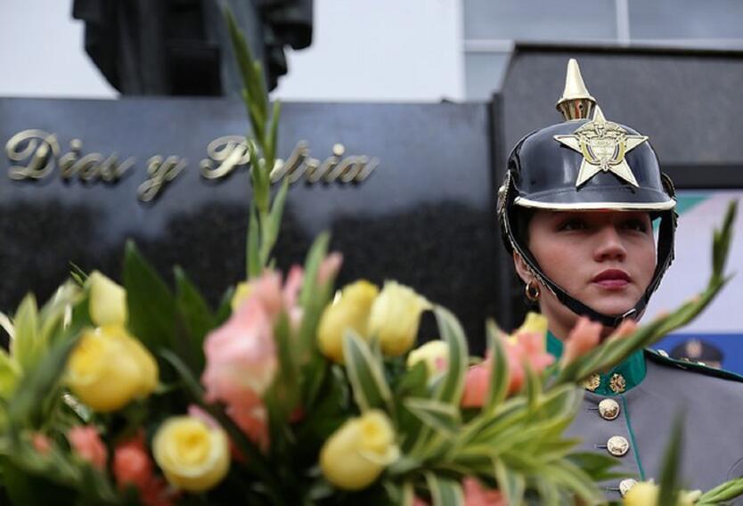 Homenaje por los fallecidos en Escuela General Santander