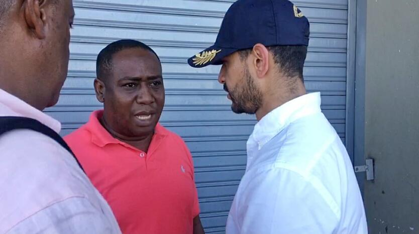 Leyner Palacios, líder de Bojayá amenazado de muerte, se reunió con el Mininterior (e.), Daniel Palacio.