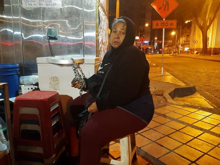 Vendedora Falconery Londoño.