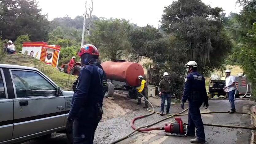 Incendios forestales en Cundinamarca