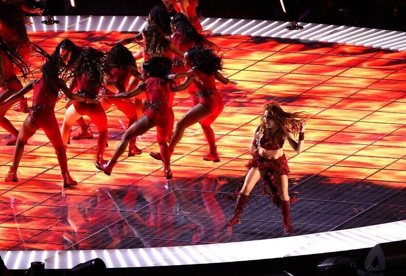 Presentación de Shakira en el Super Bowl