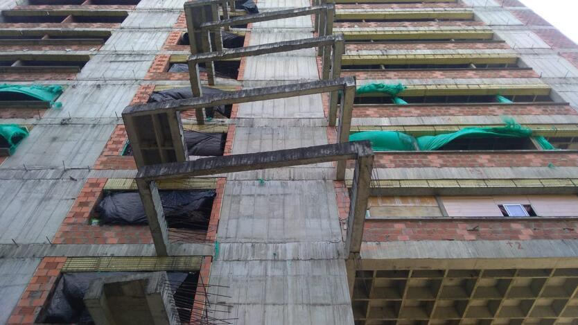 Edificio que había sido ocupado por venezolanos en Medellín