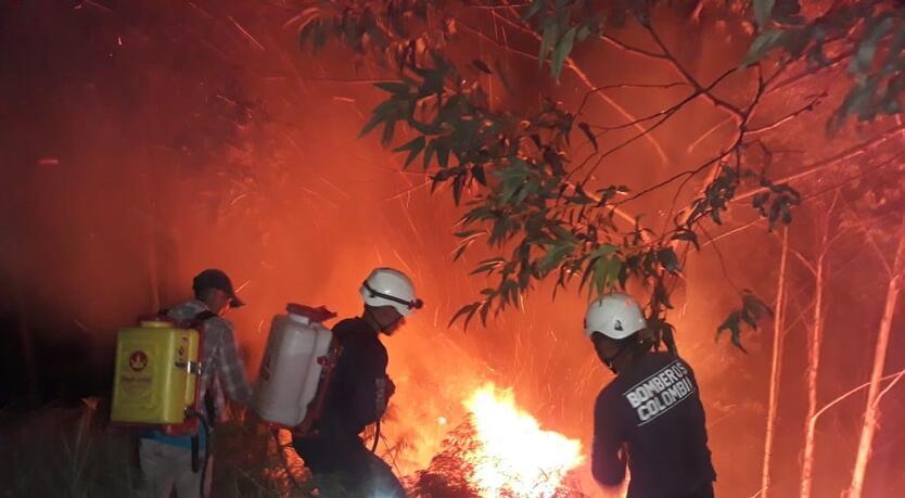 Incendio Timaná