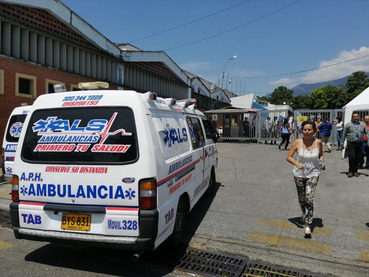 Intoxicación masiva en call center de Ibagué.