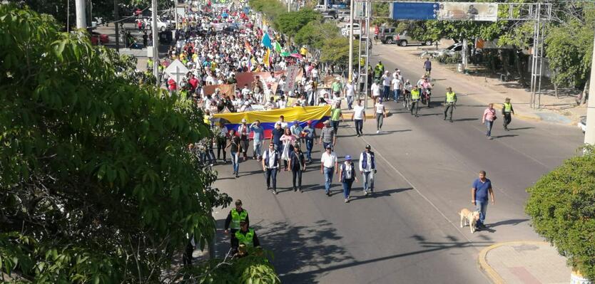 Asodegua se une al paro nacional por amenazas a docentes