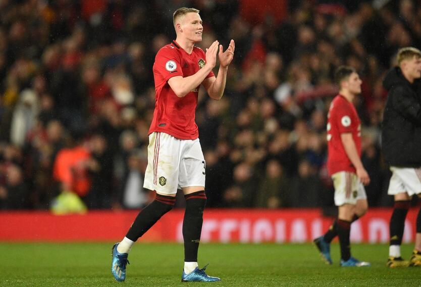 Scott McTominay, jugador del Manchester United