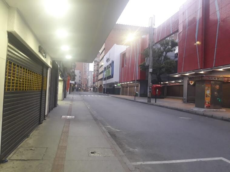Cuarentena en Medellín.