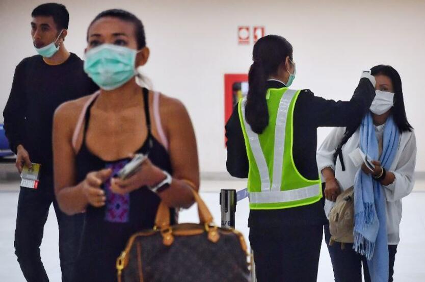 Coronavirus aeropuertos