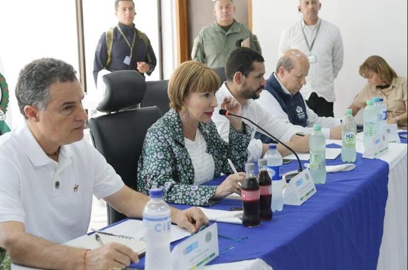 Ministra del Interior en Apartadó, Antioquia