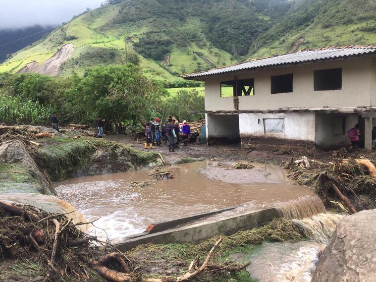 Emergencia en Silvia (Cauca), por el desbordamiento de dos ríos y dos quebradas