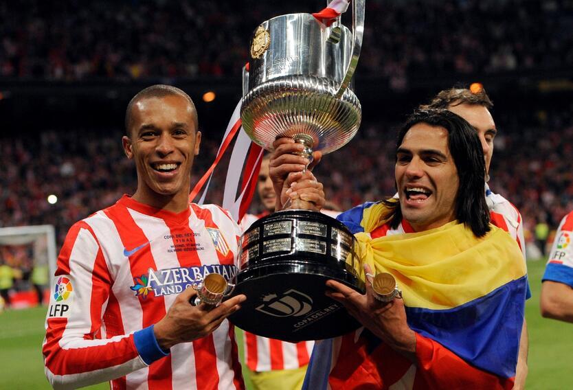 Falcao García se coronó campeón de la Europa League con el Atlético de Madrid