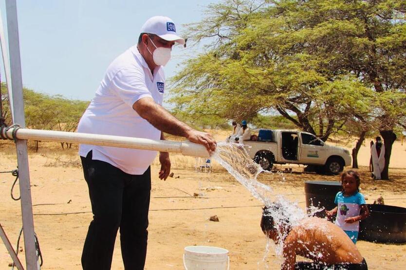 Los indígenas llevaban varios años sin agua en sus comunidades