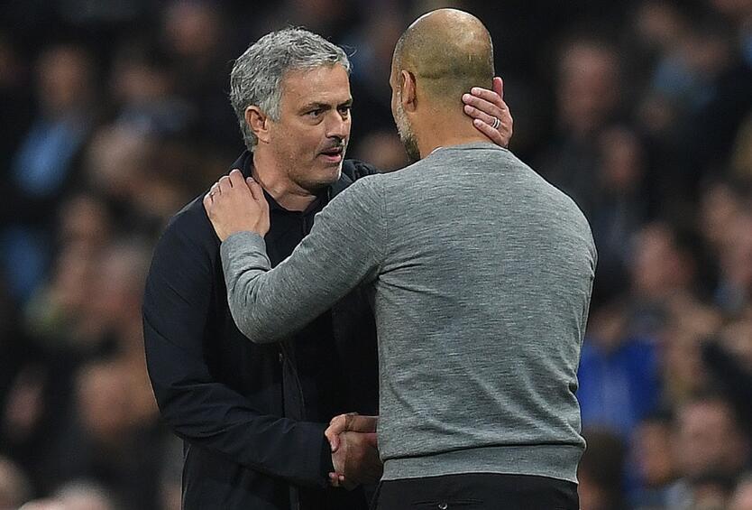 Morinho y Guardiola