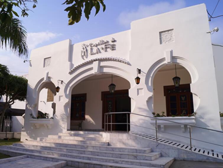 La funeraria fue cerrada en Barranquilla.