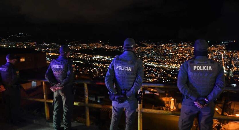 Operativos en Medellín.