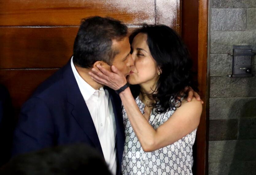 Nadine Heredia, esposa del expresidente Ollanta Humala