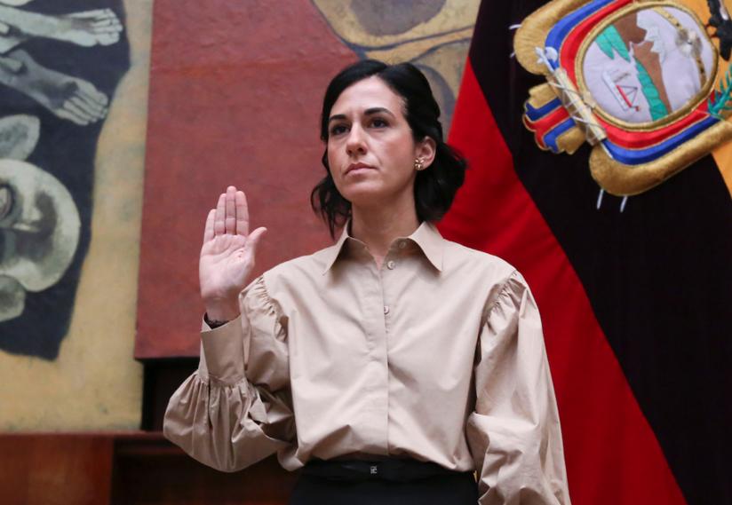 María Alejandra Muñoz, vicepresidenta de Ecuador