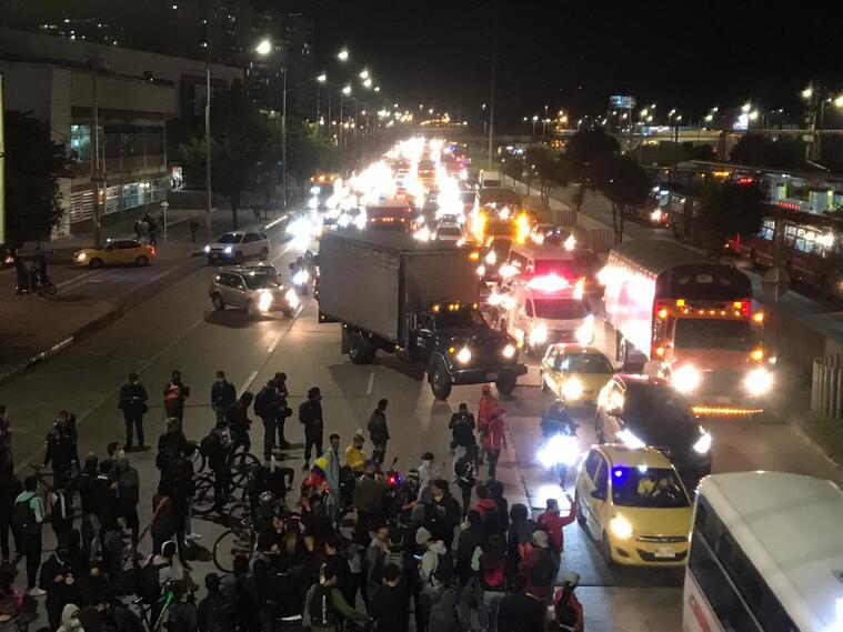 Manifestaciones Bogotá