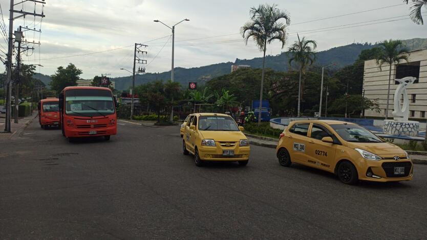 Día sin carro y sin moto en Ibagué.