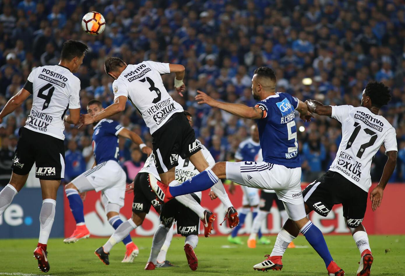 Millonarios Vs. Corinthians