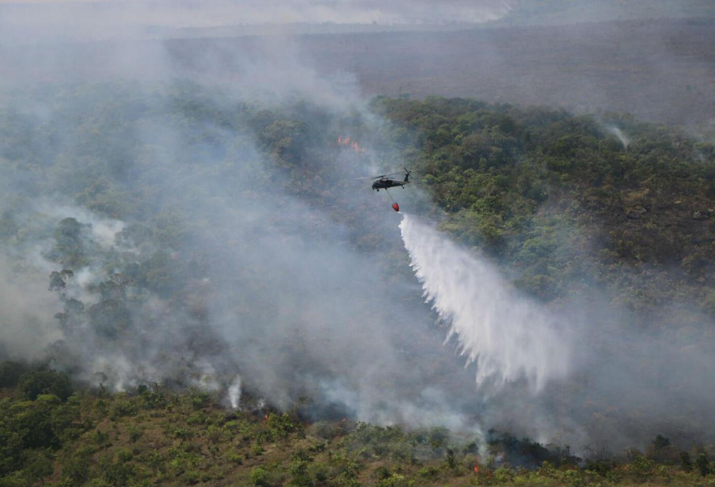 Incendio en Parque Nacional La Macarena