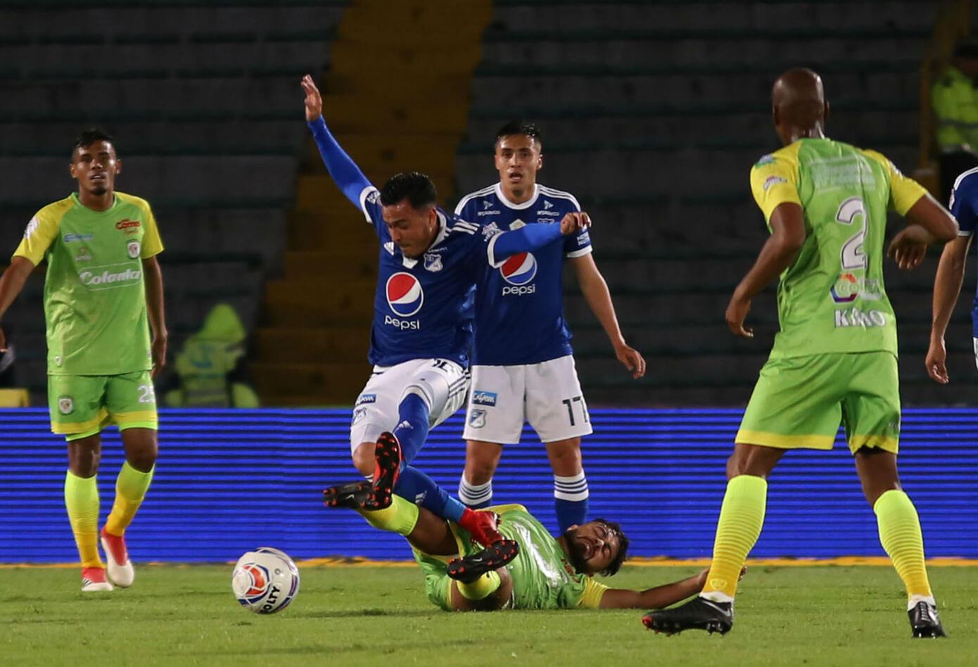 Millonarios vs Jaguares en el Campín