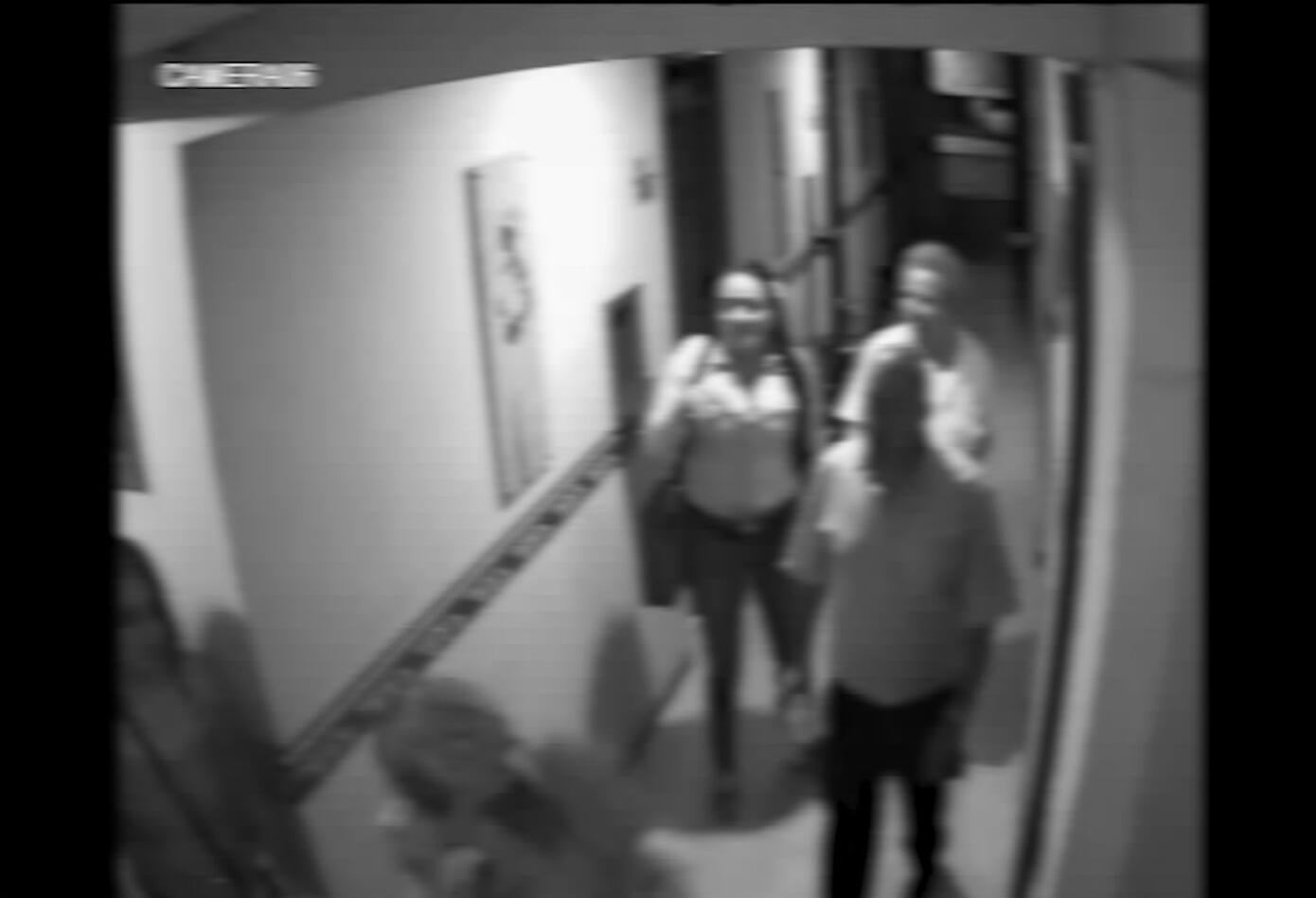 Cámaras de seguridad muestran cómo actuaban las babys