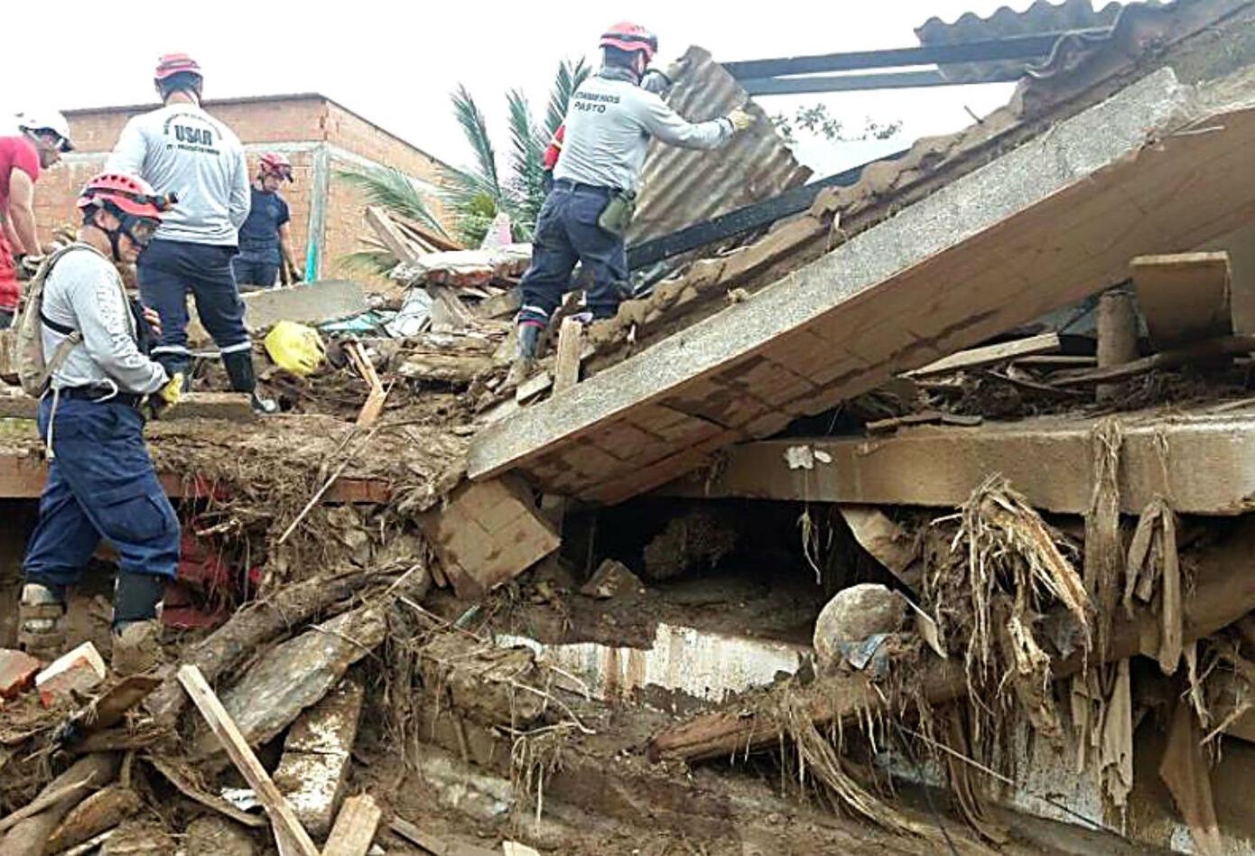Avalancha en Mocoa destruyó decenas de casas