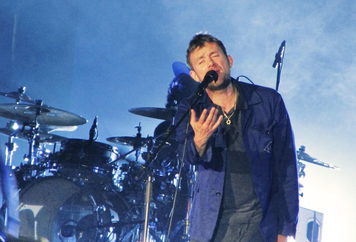 Damon Albarn, vocalista de Gorillaz