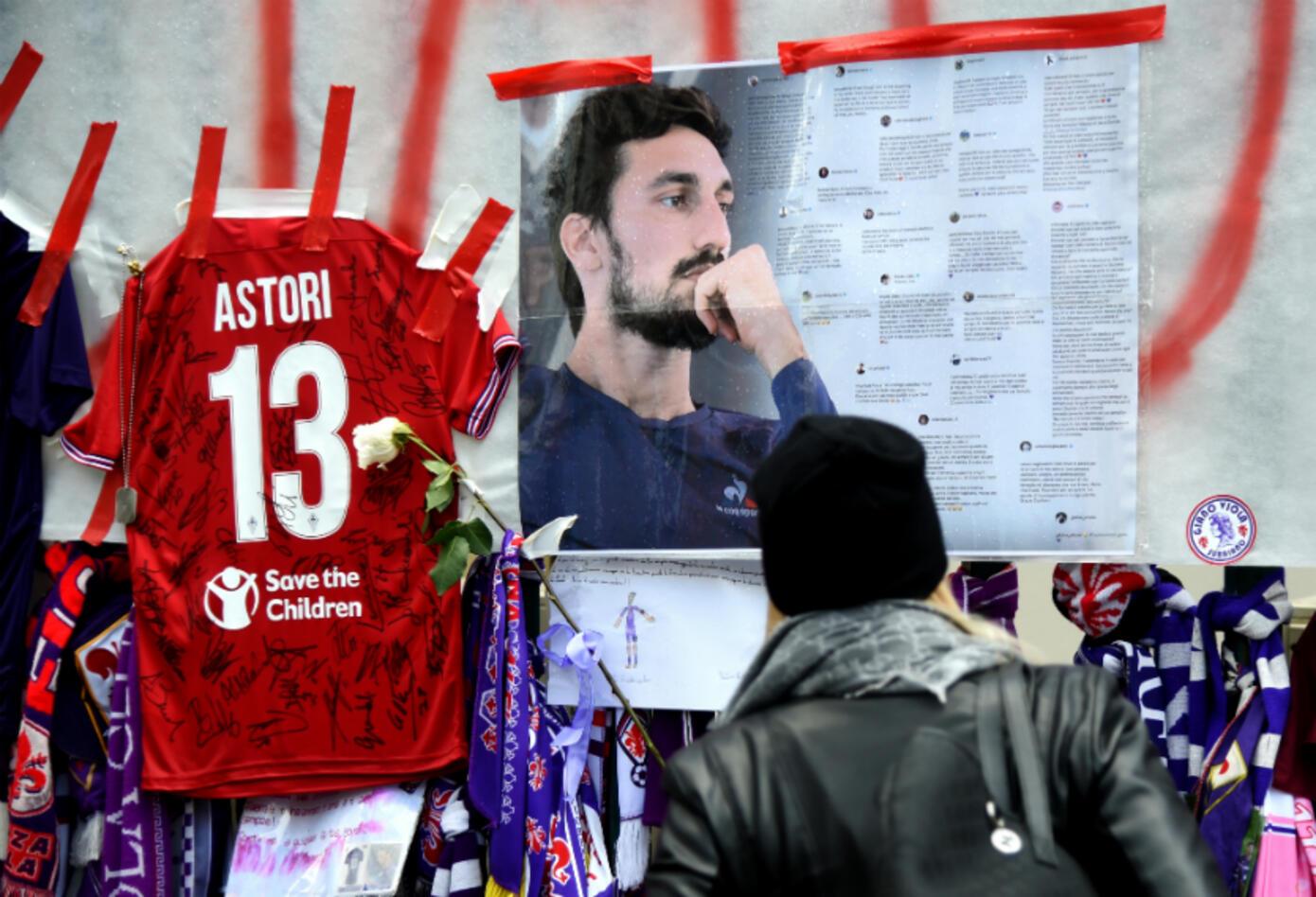 Homenaje Astori