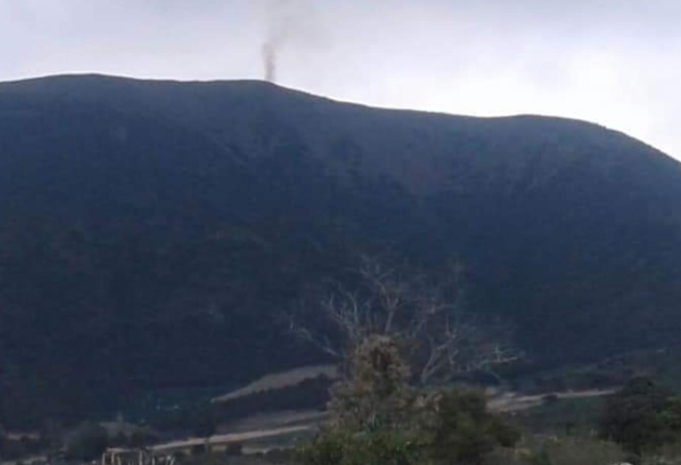 Incendio en Páramo de Boyacá