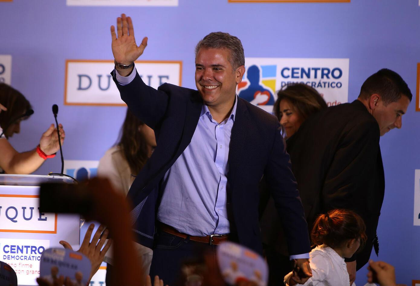 Iván Duque ganó la consulta interpartidista