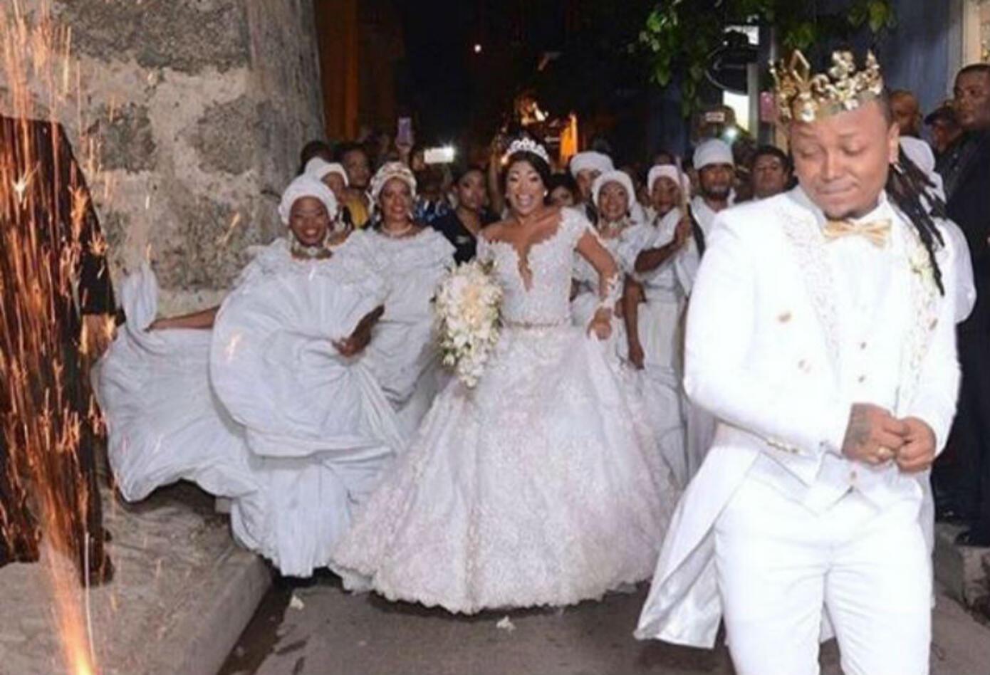 Matrimonio de Mr Black