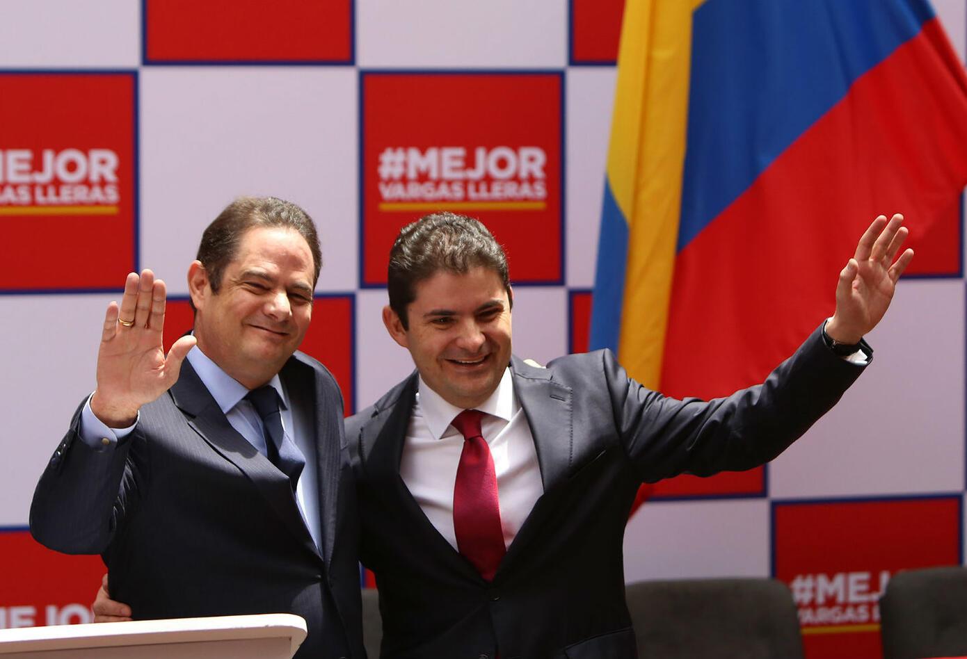 Germán Vargas Lleras y Luis Felipe Henao