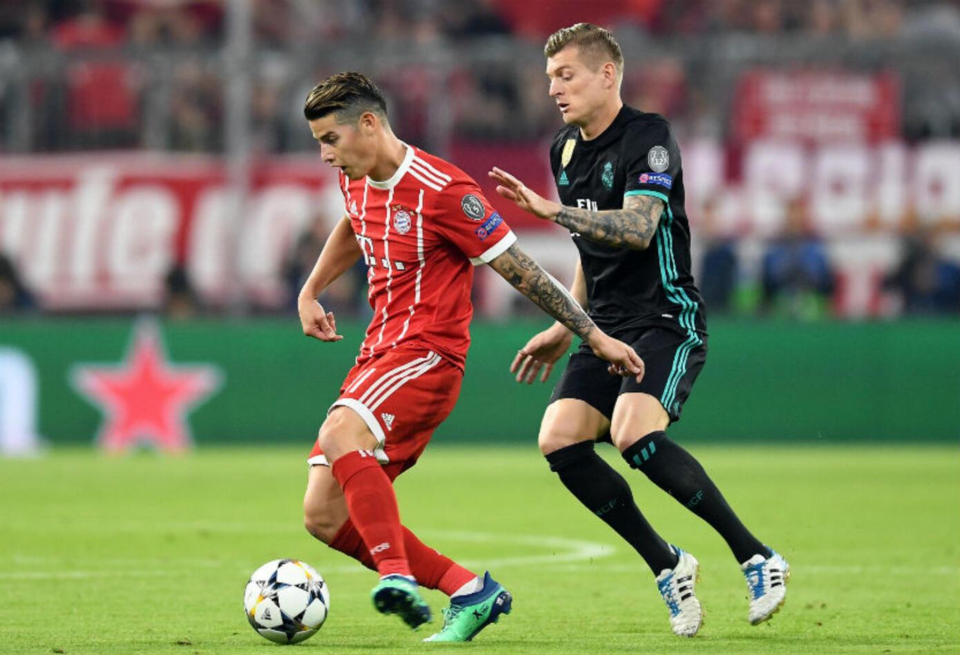 Bayern Múnich Vs Real Madrid