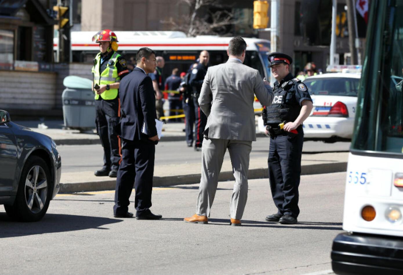 Accidente en Toronto