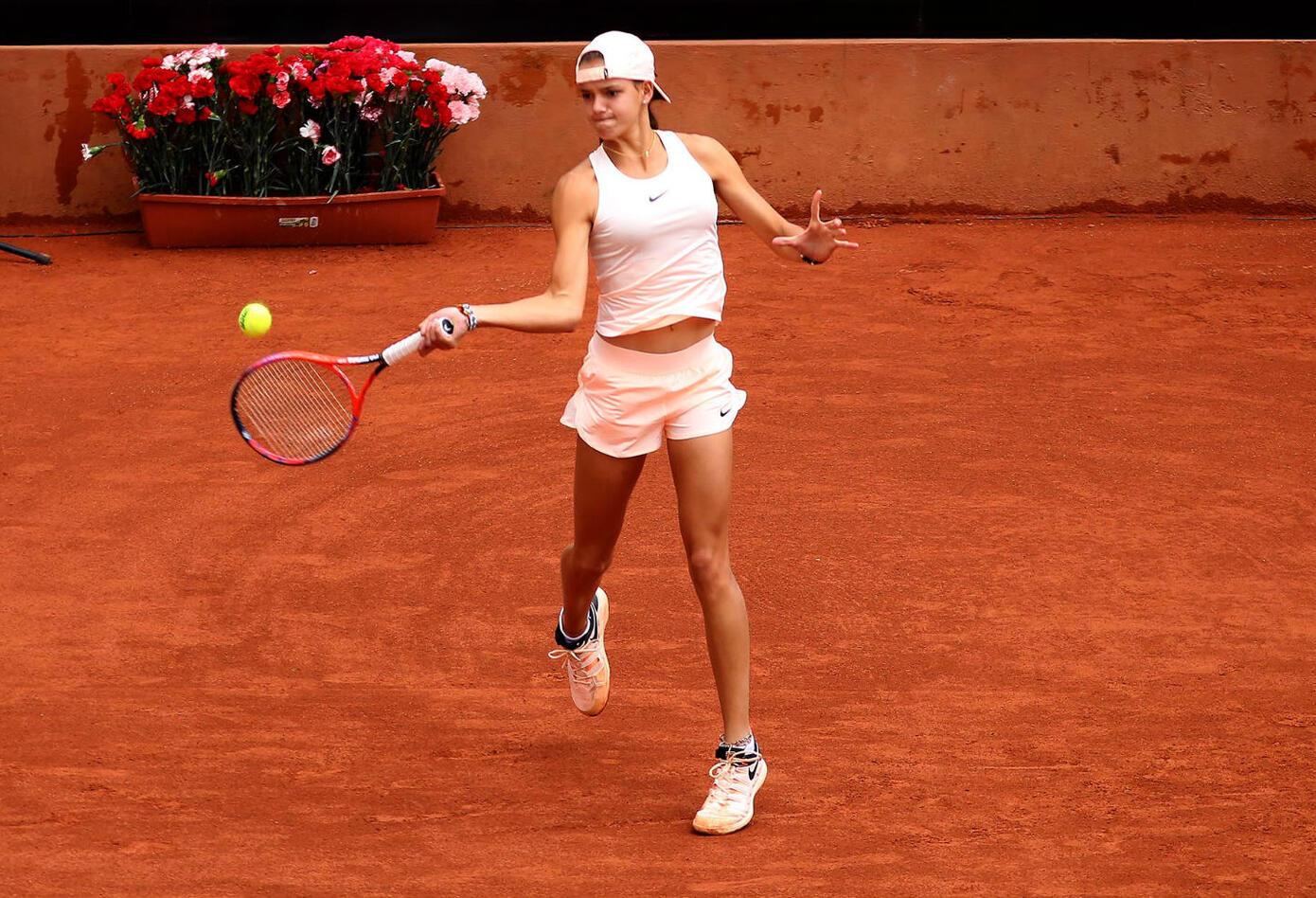 La tenista colombiana Emiliana Arango