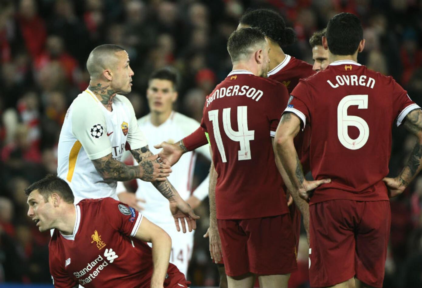 Liverpool le ganó a Roma
