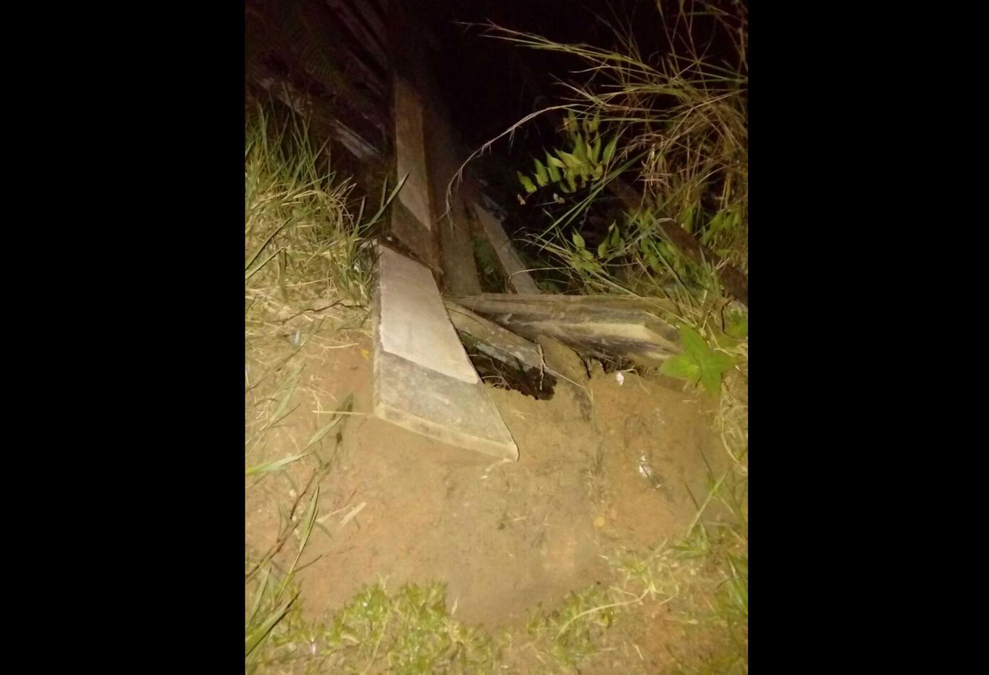 Caída de puente en Florencia, Caquetá