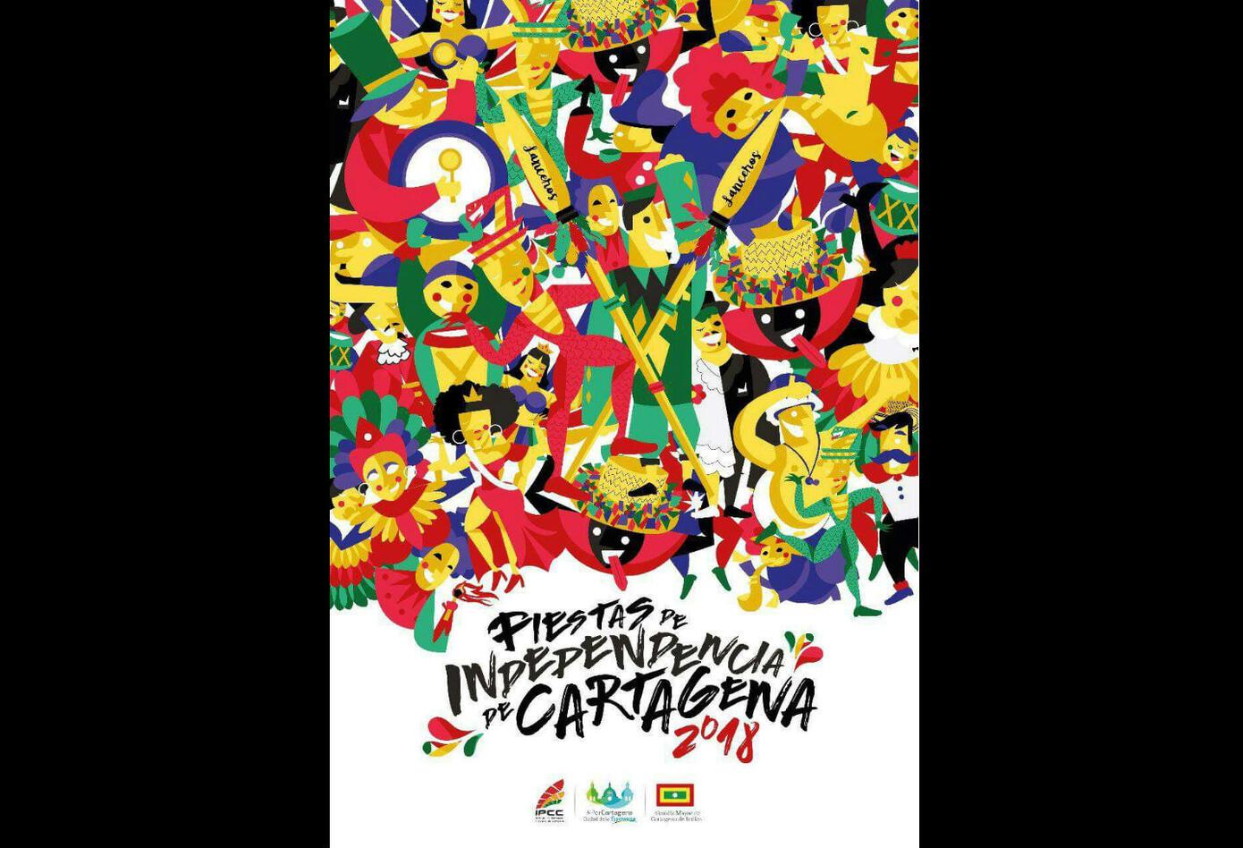 Imagen de las Fiestas de la Independencia en Cartagena