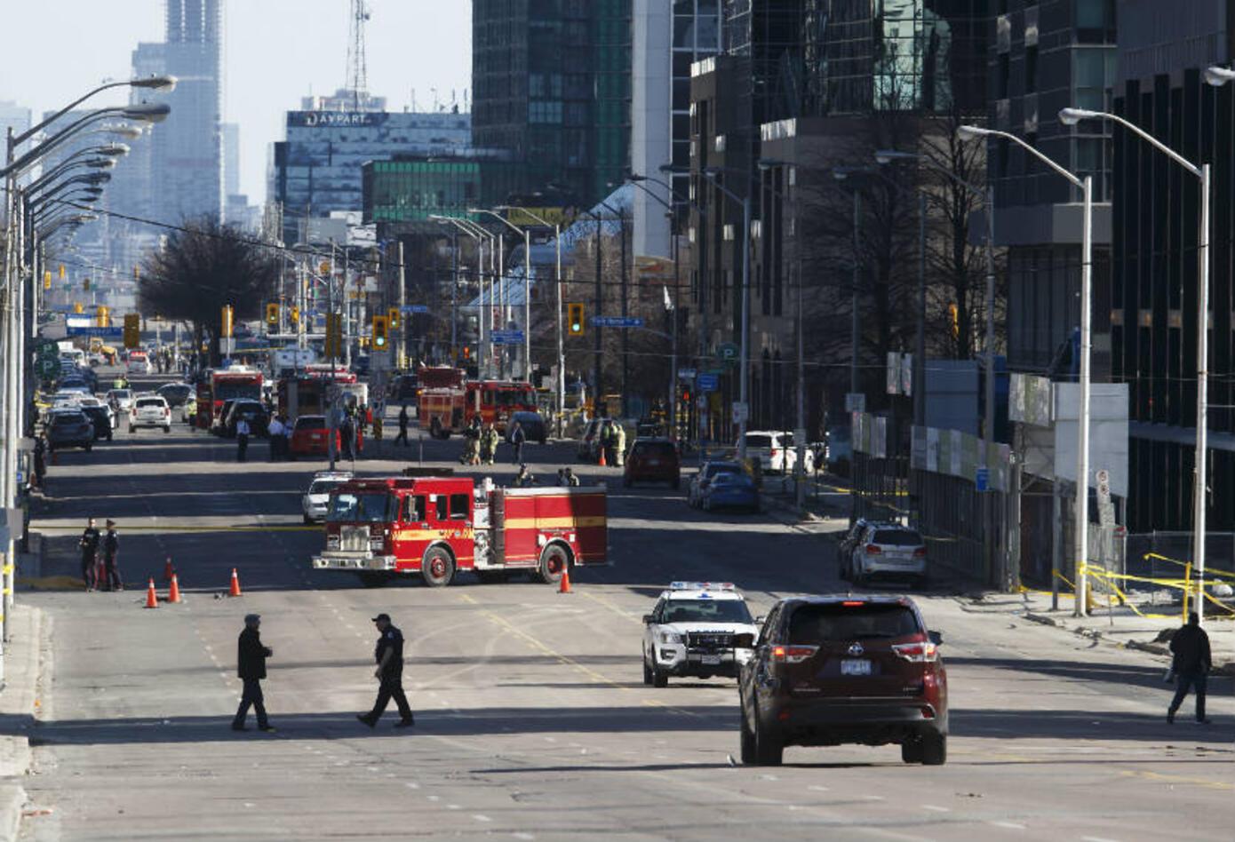 Atropello en Toronto